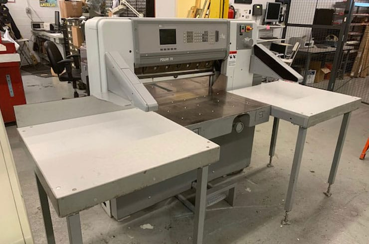 "Used Polar 30"" ED Paper Cutter Thumnail Photo Two"