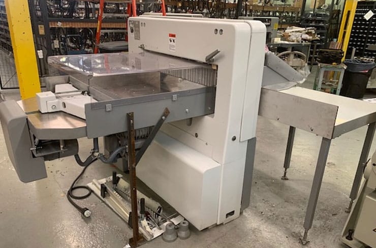 "Used Polar 30"" ED Paper Cutter Thumnail Photo Three"