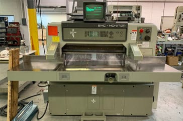 "Used 36""  Paper Cutter 92 EMC Monitor Machine"