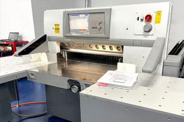 "Used 36"" Polar Paper Cutter 92 XT Machine"