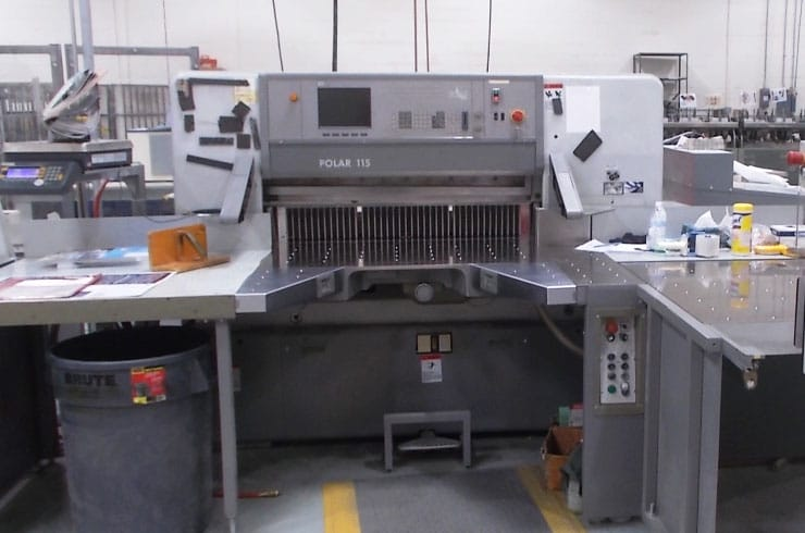 "Used Polar 45"" 115 ED Cutting System Machine"