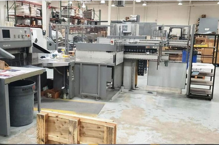 """Used Polar 45"""" 115 ED Cutting System Thumnail Photo Two"""