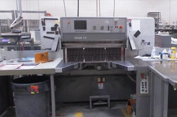 "Used 45"" Polar Cutting System 115 ED Machine"