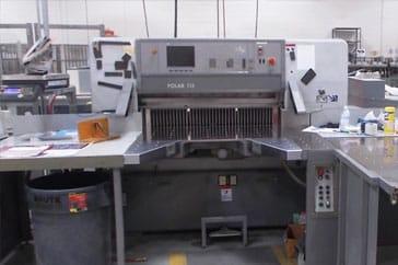 """Used 45"""" Polar Cutting System 115 ED Machine"""