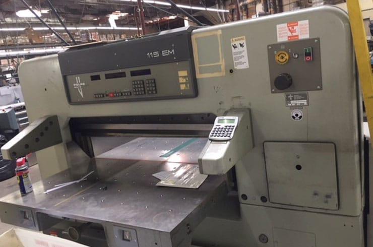 """Used Polar 45"""" 115 EM Paper Cutter Machine"""