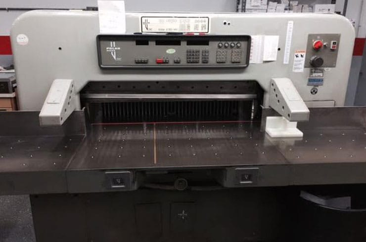 "Used Polar 45"" 115 EMC Paper Cutter Machine"