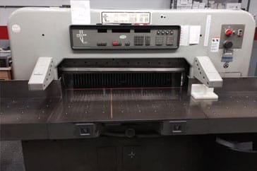 "Used 45"" Polar Paper Cutter 115 EMC Machine"