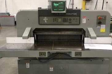 """Used 45"""" Polar Paper Cutter 115 EMC Monitor Machine"""
