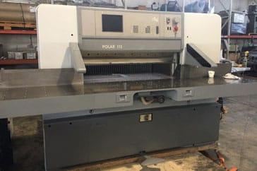 "Reconditioned 45"" Polar Paper Cutter 115 ED Machine"