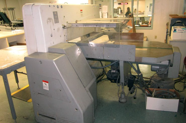 "Used Polar 45"" 115 ED - Autotrim Paper Cutter Thumnail Photo Two"