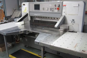"Reconditioned 45"" Polar Paper Cutter 115 ED - Autotrim Machine"