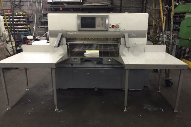 "Used Polar 45"" 115 X Paper Cutter Machine"
