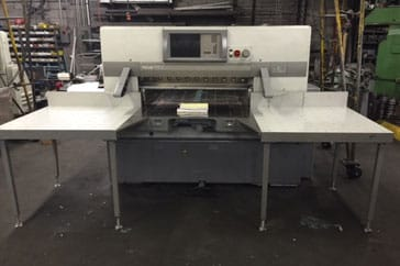 "Used 45"" Polar Paper Cutter 115 X Machine"