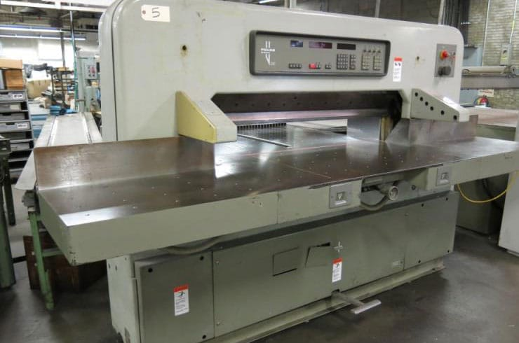 "Used Polar 54"" 137 EMC Paper Cutter Machine"