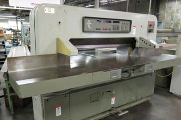 "Used 54"" Polar Paper Cutter 137 EMC Machine"