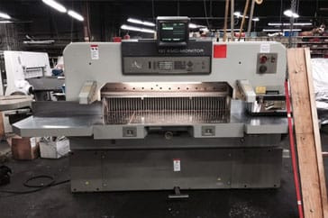 "Used 54"" Polar Paper Cutter 137 EMC Monitor Machine"