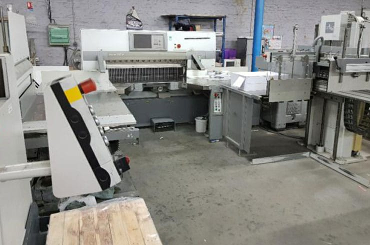 "Used Polar 54"" 137 XT, RA-4, 1ER130-4, LW 1000-4 Cutting System Machine"
