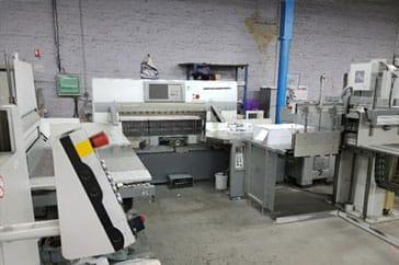 """Used 54"""" Polar Cutting System 137 XT, RA-4, 1ER130-4, LW 1000-4 Machine"""