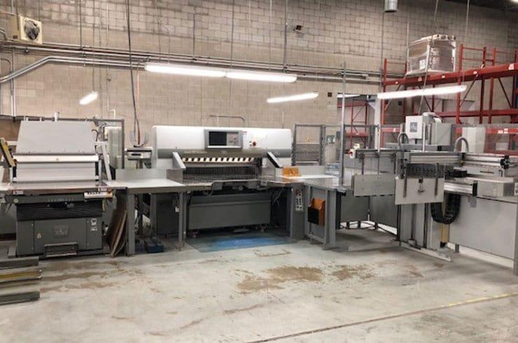 """Used Polar 54"""" 137 XT System Cutting System Machine"""