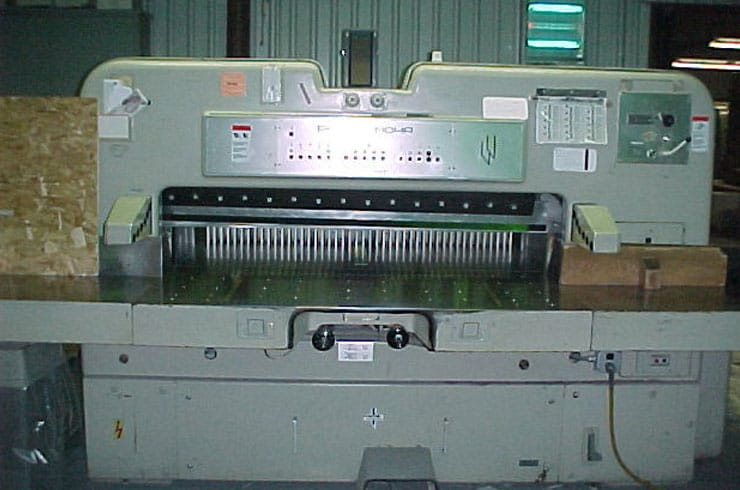 "Used Polar 61"" 155 CE Paper Cutter Machine"