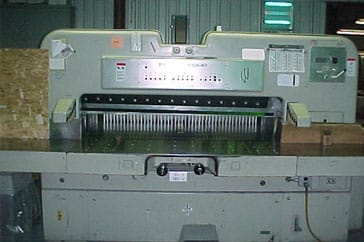 "Used 61"" Polar Paper Cutter 155 CE Machine"