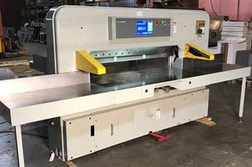 """Used 61"""" Polar Paper Cutter 155 EMC Machine"""