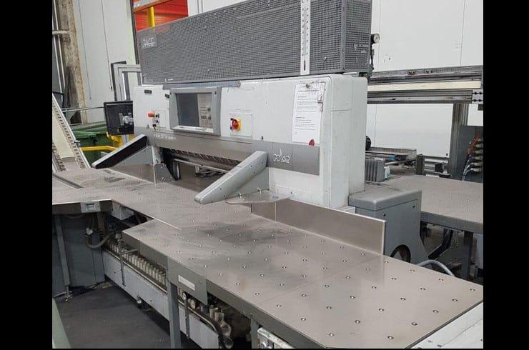 """Used Polar 54"""" 137 Autotrim Cutting Line Cutting System Machine"""