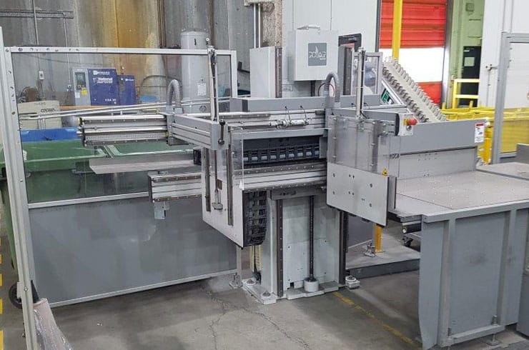 """Used Polar 54"""" 137 Autotrim Cutting Line Cutting System Thumnail Photo Two"""