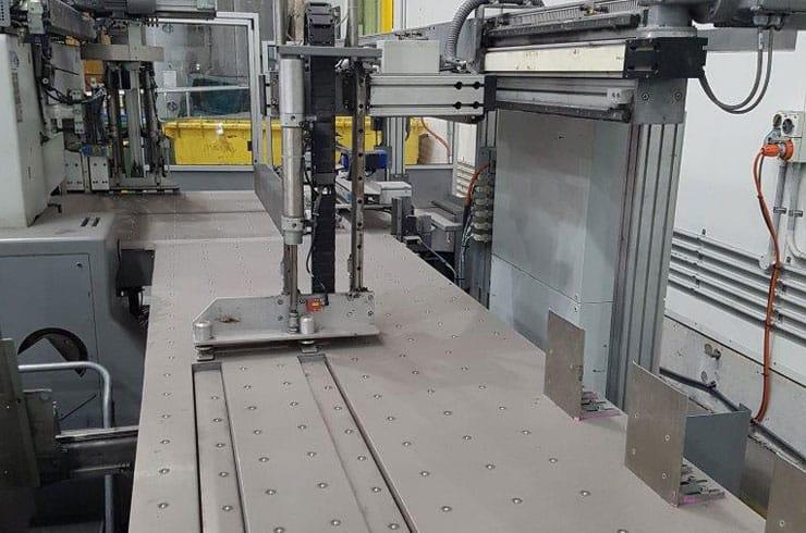 "Used Polar 54"" 137 Autotrim Cutting Line Cutting System Thumnail Photo Three"