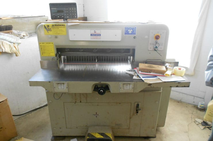 "Used Polar 28"" 72 CE Paper Cutter Machine"