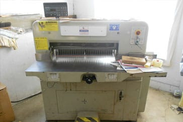 "Used 28"" Polar Paper Cutter 72 CE Machine"