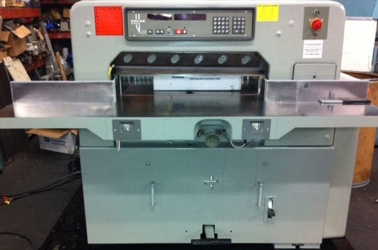 "Used Polar 30"" 76EM Paper Cutter Machine"