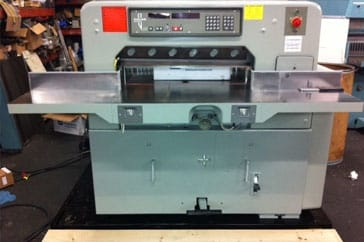 "Used 30"" Polar Paper Cutter 76EM Machine"