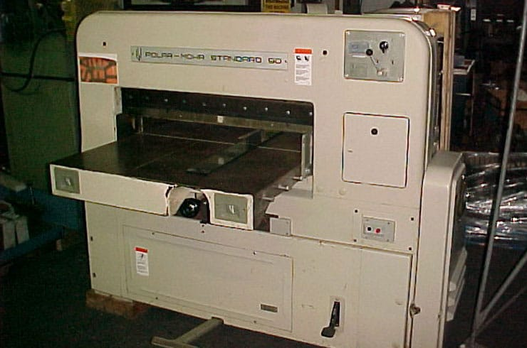 "Used Polar 35"" 90 ST Paper Cutter Machine"