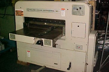 "Used 35"" Polar Paper Cutter 90 ST Machine"