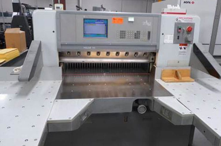 "Used Polar 36"" 92E Paper Cutter Machine"