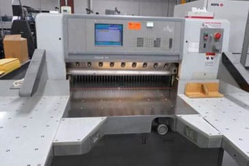 "Used 36"" Polar Paper Cutter 92E Machine"