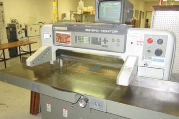 "Used 36"" Polar Paper Cutter 92 EMC Monitor Machine"