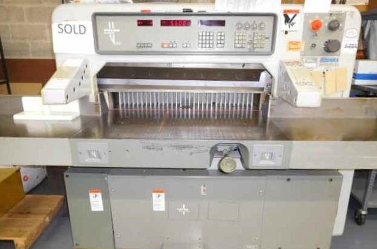 "Used Polar 36"" 92 EMC  Paper Cutter Machine"