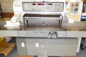 """Used 36"""" Polar Paper Cutter 92 EMC  Machine"""