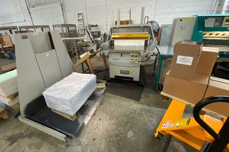 "Used Perfecta 52"" TVC Cutting System Machine"
