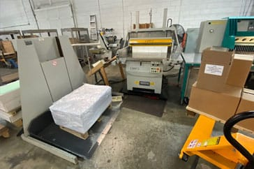 "Used 52"" Perfecta Cutting System TVC Machine"
