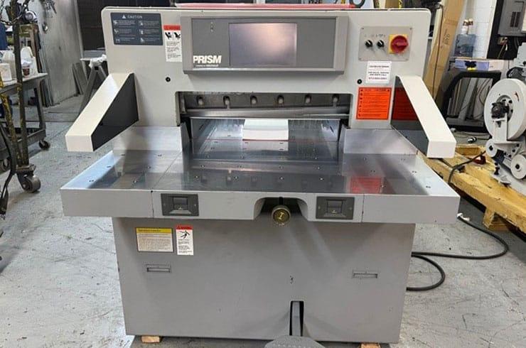 """Used Prism 27"""" PC Paper Cutter Machine"""