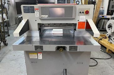 """Used 27"""" Prism Paper Cutter PC Machine"""