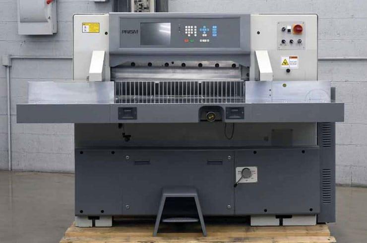 """Used Prism 36"""" P92 Paper Cutter Machine"""