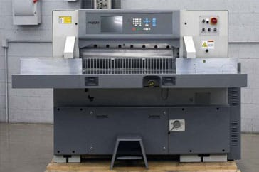 "Used 36"" Prism Paper Cutter P92 Machine"