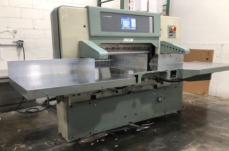 """Used Prism 45"""" P115 Paper Cutter Thumnail Photo Two"""
