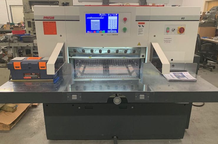 "Used Prism 31.5"" P80 Paper Cutter Machine"