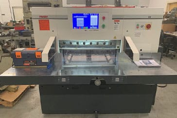 "Used 31.5"" Prism Paper Cutter P80 Machine"