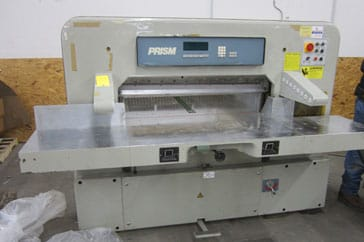 "Used 45"" Prism Paper Cutter 115 Digital Machine"